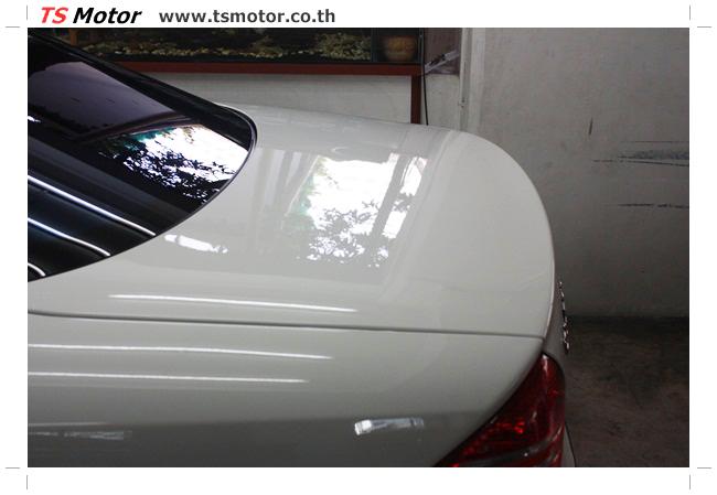 IMG 5098 อู่สี พ่นสีรอบคัน Merc Benz CL500 สีขาว