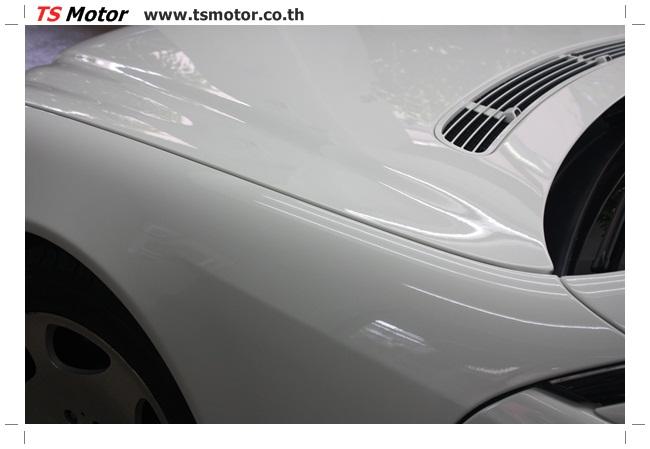 IMG 5100 อู่สี พ่นสีรอบคัน Merc Benz CL500 สีขาว
