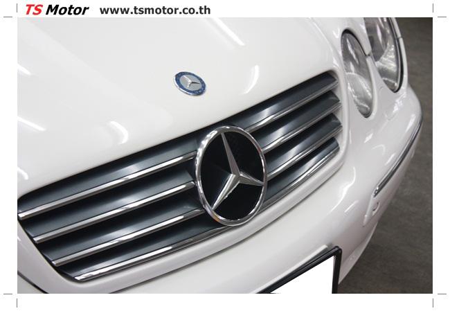 IMG 5105 อู่สี พ่นสีรอบคัน Merc Benz CL500 สีขาว
