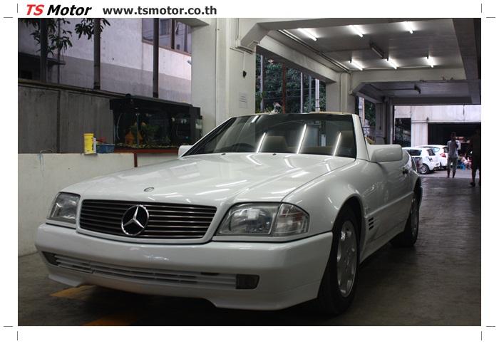 IMG 5168 Mercedes Benz SL500 Color Change