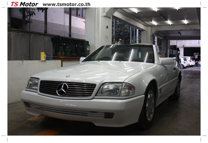 IMG 5169 Mercedes Benz SL500 Color Change