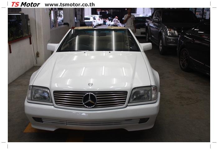 IMG 5170 Mercedes Benz SL500 Color Change