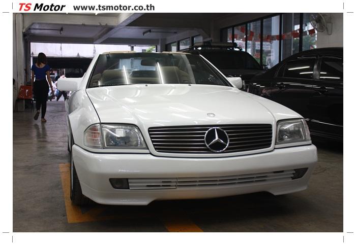 IMG 5172 Mercedes Benz SL500 Color Change