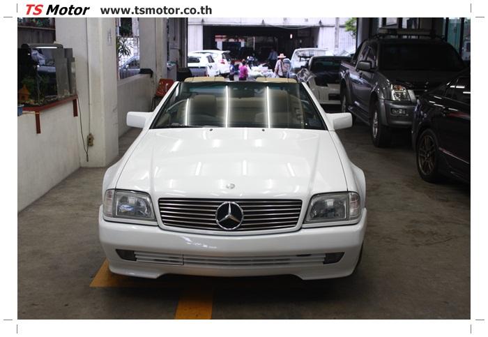 IMG 5178 Mercedes Benz SL500 Color Change