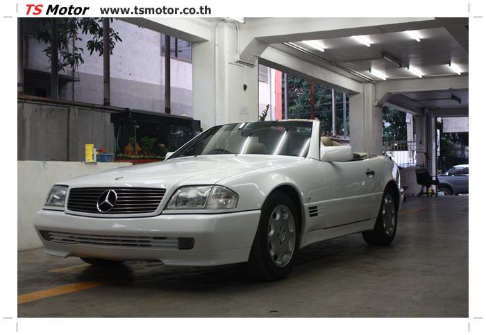 IMG 5179 Mercedes Benz SL500 Color Change
