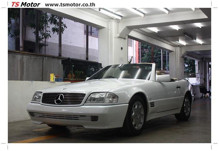 IMG 5180 Mercedes Benz SL500 Color Change