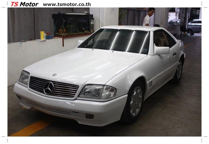 IMG 5183 Mercedes Benz SL500 Color Change