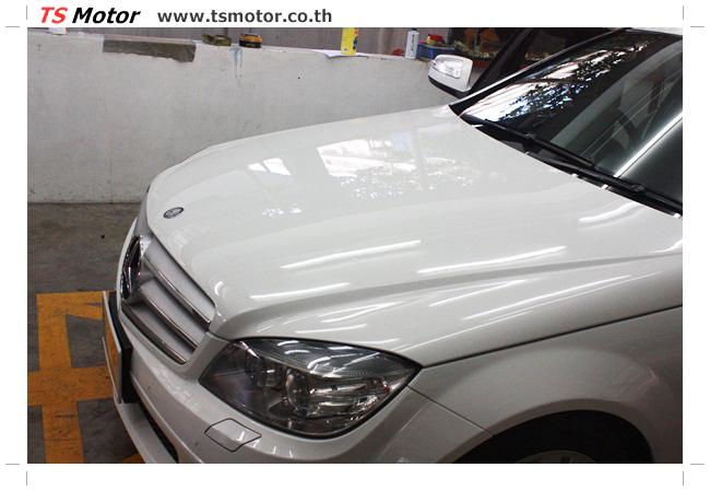 IMG 5349 ศูนย์บริการซ่อมสีรถยนต์ TS Motor ผลงานซ่อมสี Mercedes Benz W204
