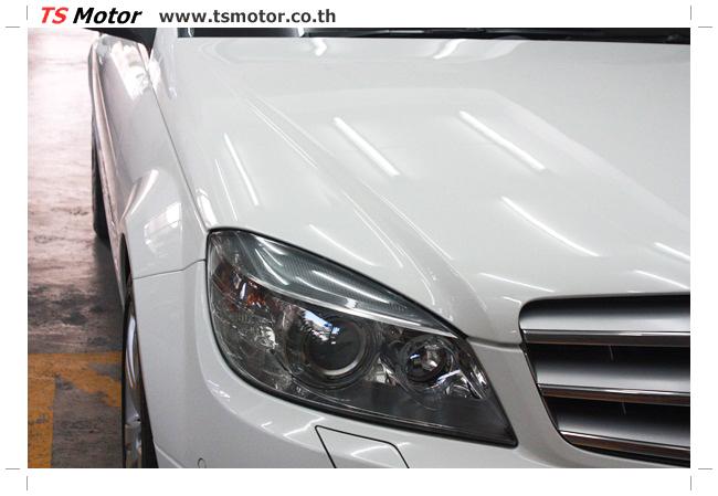 IMG 5357 ศูนย์บริการซ่อมสีรถยนต์ TS Motor ผลงานซ่อมสี Mercedes Benz W204