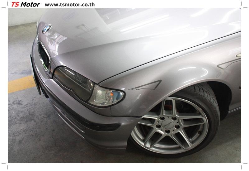 IMG 5360 งานซ่อม BMW ซีรีย์ 3 E46 สี บรอนซ์ทอง ซ่อมสีชิ้นส่วนต่างๆ