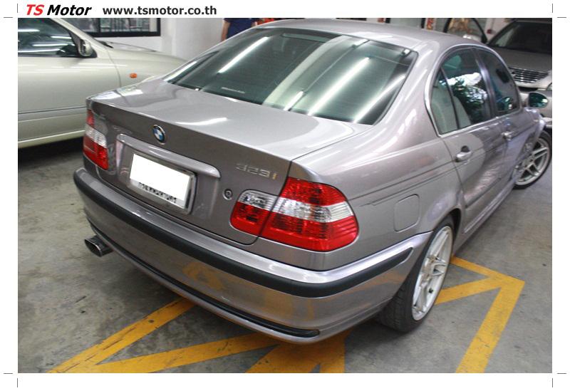 IMG 5364 งานซ่อม BMW ซีรีย์ 3 E46 สี บรอนซ์ทอง ซ่อมสีชิ้นส่วนต่างๆ