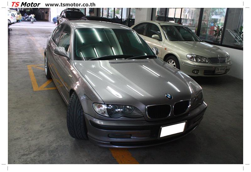 IMG 5365 งานซ่อม BMW ซีรีย์ 3 E46 สี บรอนซ์ทอง ซ่อมสีชิ้นส่วนต่างๆ