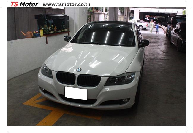 IMG 5425 อู่สี ทีเอส มอเตอร์ งานซ่อม BMW  E90 320d ซ่อมสีแถบขวา พร้อมเปลี่ยนอะไหล่