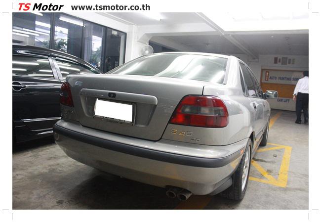 IMG 5451 อู่ทำสีรถ ผลงานซ่อมสีรถยนต์ VOLVO S40