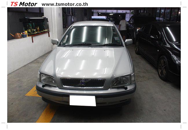 IMG 5452 อู่ทำสีรถ ผลงานซ่อมสีรถยนต์ VOLVO S40