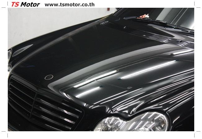 IMG 5462 ศูนย์บริการซ่อมสีรถยนต์ TS Motor ผลงานพ่นสี Mercedes Benz C230 KOM