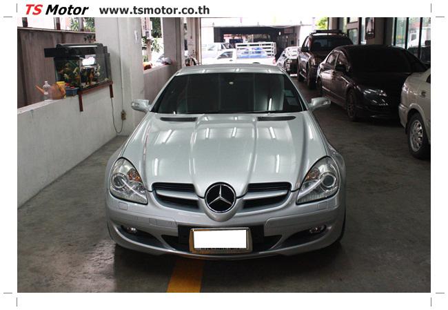 IMG 5625 อู่สีรถ งานซ่อมสี Mercedes Benz SLK