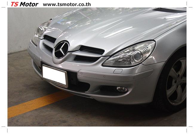 IMG 5627 อู่สีรถ งานซ่อมสี Mercedes Benz SLK