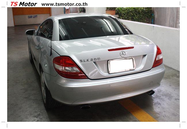 IMG 5629 อู่สีรถ งานซ่อมสี Mercedes Benz SLK