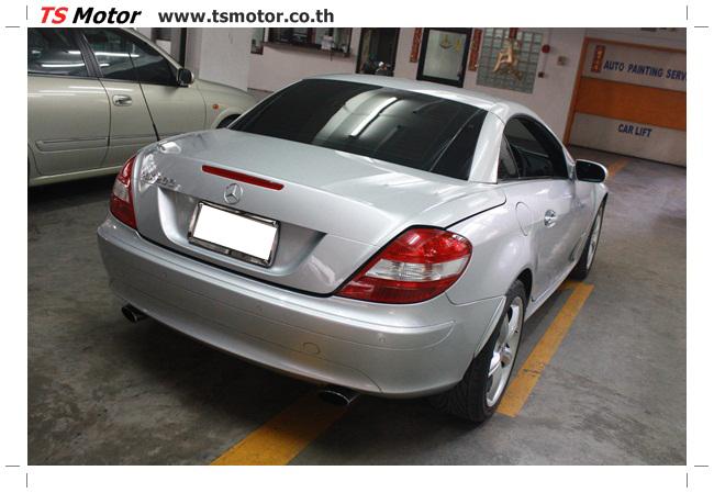 IMG 5630 อู่สีรถ งานซ่อมสี Mercedes Benz SLK