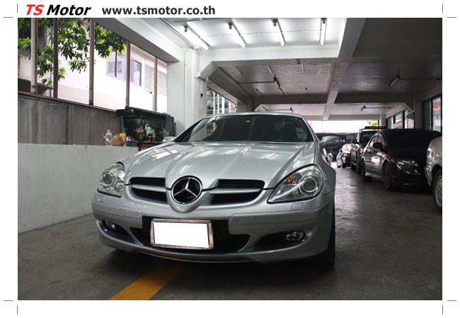 IMG 5631 อู่สีรถ งานซ่อมสี Mercedes Benz SLK