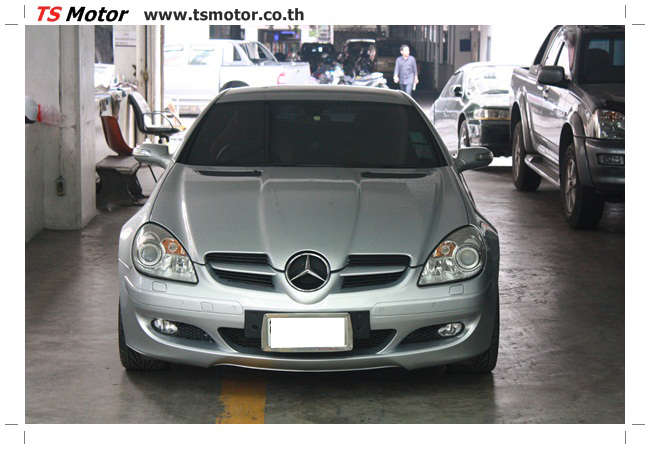 IMG 5632 อู่สีรถ งานซ่อมสี Mercedes Benz SLK