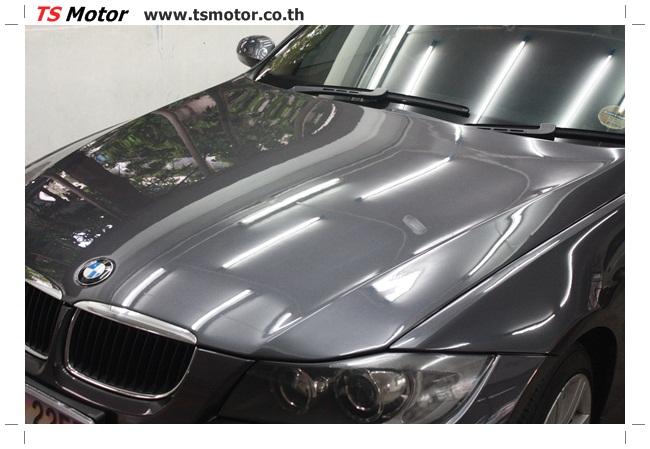 IMG 5656 งานซ่อม BMW ซีรีย์ 3 E90 สีเทา เปลี่ยนบังโคลนหน้า เคาะประตู และชิ้นงานอื่นๆ