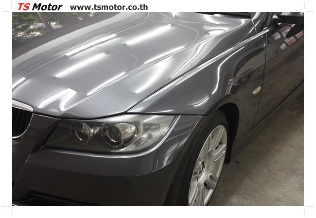 IMG 5657 งานซ่อม BMW ซีรีย์ 3 E90 สีเทา เปลี่ยนบังโคลนหน้า เคาะประตู และชิ้นงานอื่นๆ