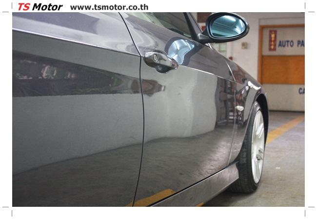 IMG 5659 งานซ่อม BMW ซีรีย์ 3 E90 สีเทา เปลี่ยนบังโคลนหน้า เคาะประตู และชิ้นงานอื่นๆ