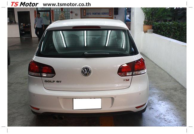 IMG 5700 อู่สีรถ งานทำสี VW GOLF GT สีขาว