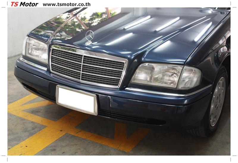 IMG 5704 อู่สีรถ งานซ่อมสี Mercedes Benz C230  W204 สีดำ โดยศูนย์ซ่อมสีรถยนต์ TS Motor