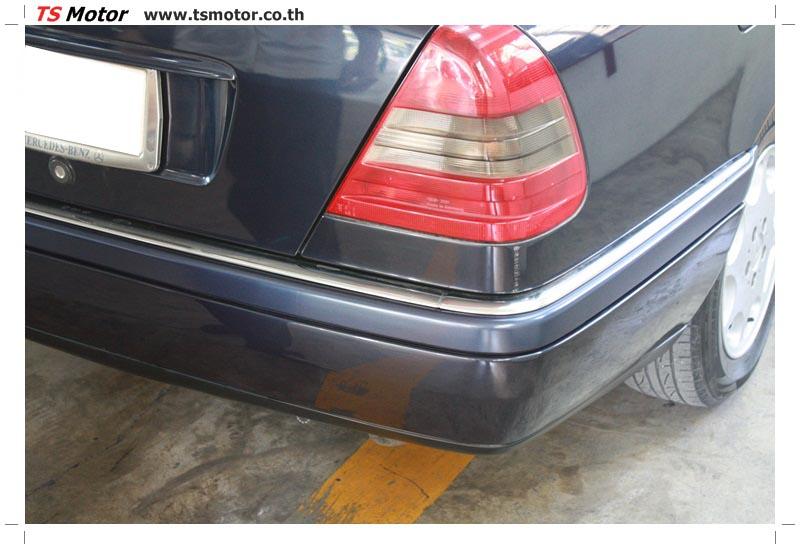 IMG 5708 อู่สีรถ งานซ่อมสี Mercedes Benz C230  W204 สีดำ โดยศูนย์ซ่อมสีรถยนต์ TS Motor