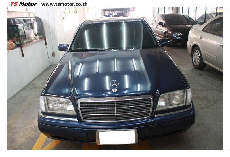 IMG 5709 อู่สีรถ งานซ่อมสี Mercedes Benz C230  W204 สีดำ โดยศูนย์ซ่อมสีรถยนต์ TS Motor