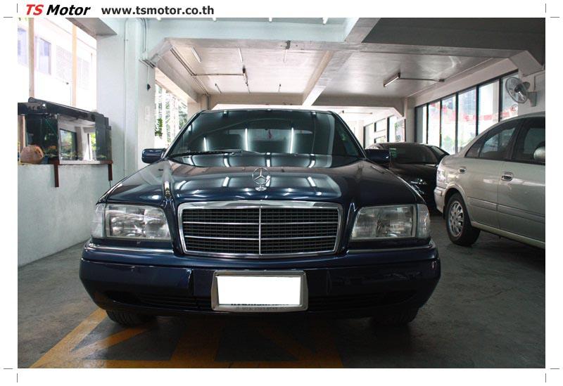 IMG 5710 อู่สีรถ งานซ่อมสี Mercedes Benz C230  W204 สีดำ โดยศูนย์ซ่อมสีรถยนต์ TS Motor