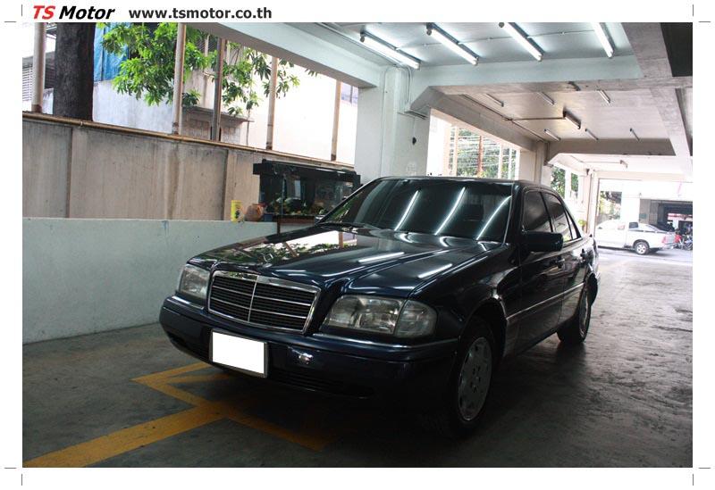 IMG 5711 อู่สีรถ งานซ่อมสี Mercedes Benz C230  W204 สีดำ โดยศูนย์ซ่อมสีรถยนต์ TS Motor