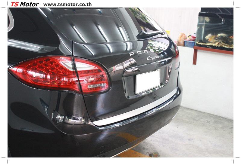IMG 5720 งานซ่อมสี เปลี่ยนอะไหล่ PORSCHE CAYENNE สีดำ โดยอู่ซ่อมสีรถยนต์ TS MOTOR