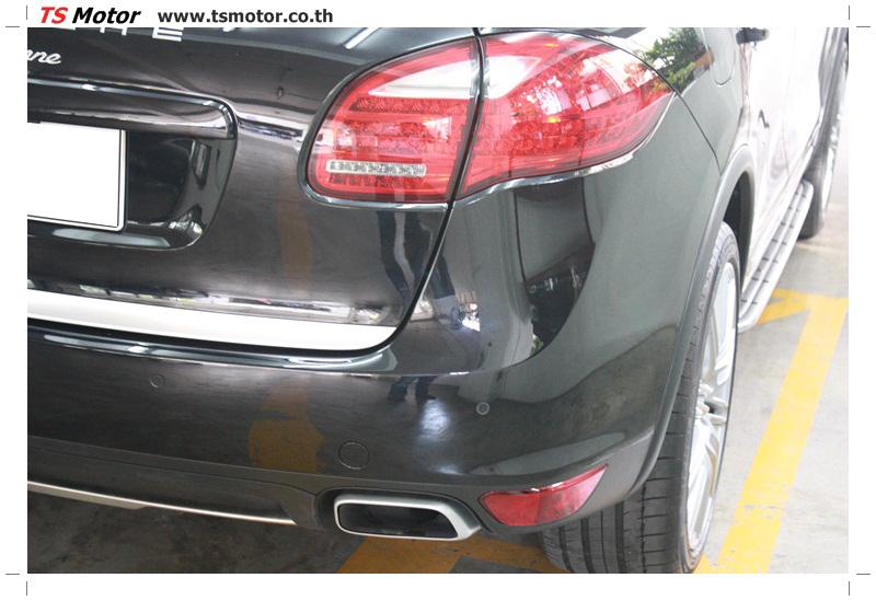 IMG 5726 งานซ่อมสี เปลี่ยนอะไหล่ PORSCHE CAYENNE สีดำ โดยอู่ซ่อมสีรถยนต์ TS MOTOR