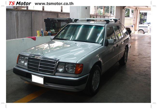 IMG 5955 งานเก็บสีใหม่รอบคัน Mercedes BENZ 230 TE VAN พ่นสีใหม่รอบคัน โดย อู่สีรถ TS Motor