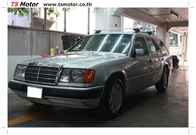 IMG 5956 งานเก็บสีใหม่รอบคัน Mercedes BENZ 230 TE VAN พ่นสีใหม่รอบคัน โดย อู่สีรถ TS Motor