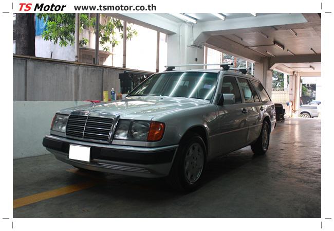 IMG 5957 งานเก็บสีใหม่รอบคัน Mercedes BENZ 230 TE VAN พ่นสีใหม่รอบคัน โดย อู่สีรถ TS Motor