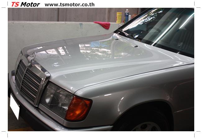 IMG 5958 งานเก็บสีใหม่รอบคัน Mercedes BENZ 230 TE VAN พ่นสีใหม่รอบคัน โดย อู่สีรถ TS Motor