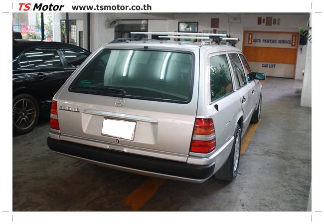 IMG 5961 งานเก็บสีใหม่รอบคัน Mercedes BENZ 230 TE VAN พ่นสีใหม่รอบคัน โดย อู่สีรถ TS Motor