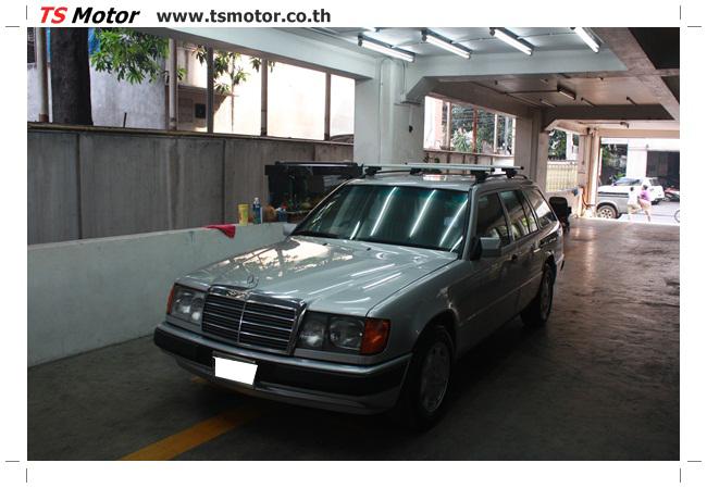 IMG 5964 งานเก็บสีใหม่รอบคัน Mercedes BENZ 230 TE VAN พ่นสีใหม่รอบคัน โดย อู่สีรถ TS Motor