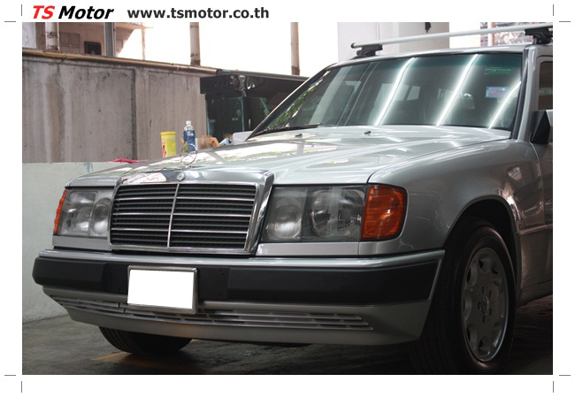 IMG 5966 งานเก็บสีใหม่รอบคัน Mercedes BENZ 230 TE VAN พ่นสีใหม่รอบคัน โดย อู่สีรถ TS Motor
