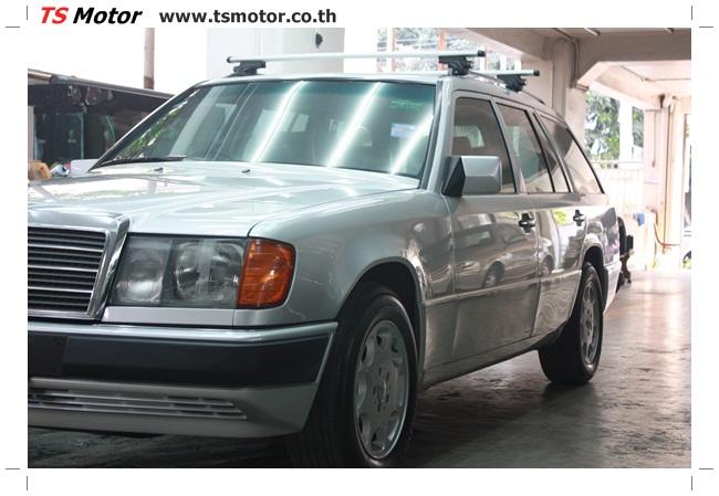 IMG 5967 งานเก็บสีใหม่รอบคัน Mercedes BENZ 230 TE VAN พ่นสีใหม่รอบคัน โดย อู่สีรถ TS Motor