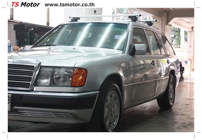 IMG 5968 งานเก็บสีใหม่รอบคัน Mercedes BENZ 230 TE VAN พ่นสีใหม่รอบคัน โดย อู่สีรถ TS Motor