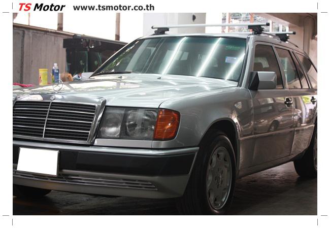 IMG 5969 งานเก็บสีใหม่รอบคัน Mercedes BENZ 230 TE VAN พ่นสีใหม่รอบคัน โดย อู่สีรถ TS Motor