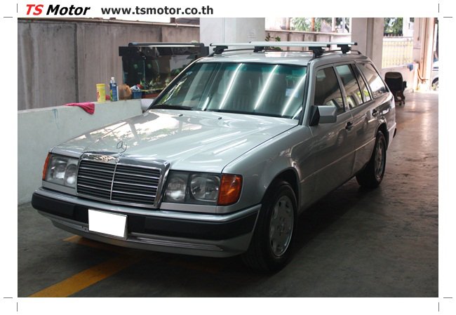 IMG 5971 งานเก็บสีใหม่รอบคัน Mercedes BENZ 230 TE VAN พ่นสีใหม่รอบคัน โดย อู่สีรถ TS Motor