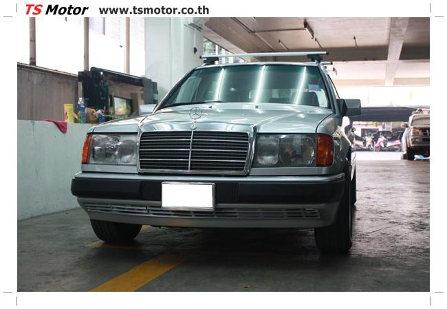 IMG 5972 งานเก็บสีใหม่รอบคัน Mercedes BENZ 230 TE VAN พ่นสีใหม่รอบคัน โดย อู่สีรถ TS Motor