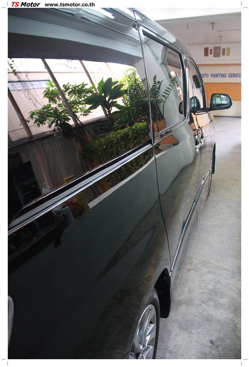 IMG 6227 อู่สี ผลงานซ่อมสี Toyota Velfire  สีบรอนซ์ดำ  เนียนๆ จาก TS Motor